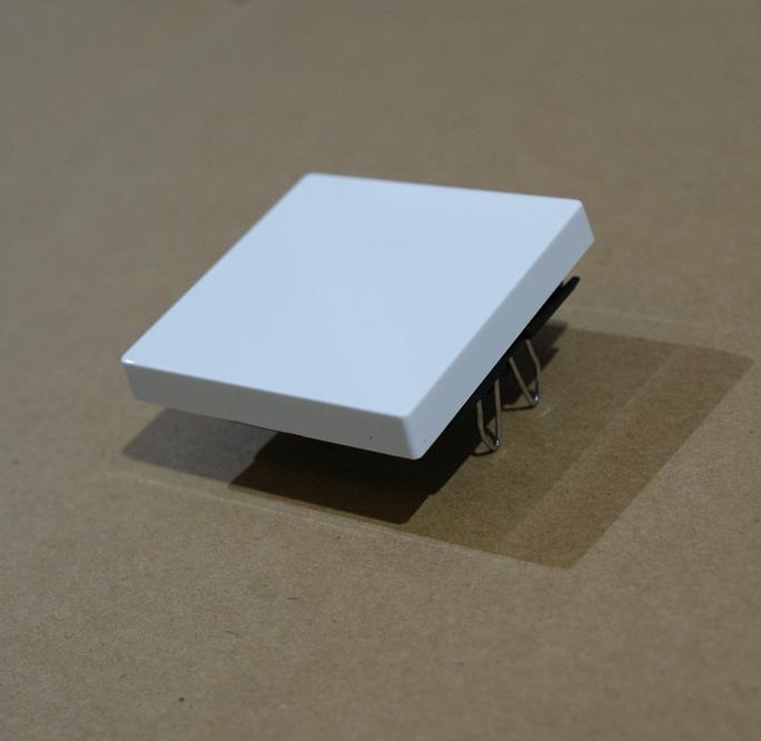 Merten Steckdosen Wippen Rahmen System M Atelier-M 1-M M-Pure polarweiß glänzend