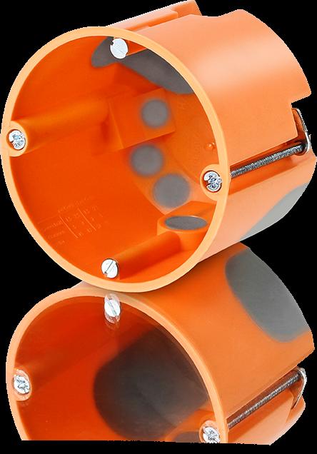 10x Hohlwanddosen flach Schalterdose 68mm 47mm tief Hohlwanddose